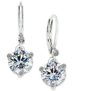 kate spade Solitaire Crystal Drop Earrings